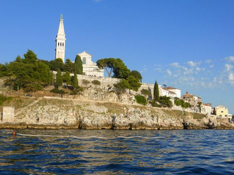 Rovinj, Croatia ��� September, 6: the cobbled streets of Rovinj on September 6, 2013. the streets of Rovinj have been chosen as set for novels by famous writers as Verne and Joyce because of the romantic uniqueness