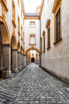 Interior of Abbey Melk in Austria