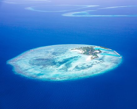 Islands aerial view