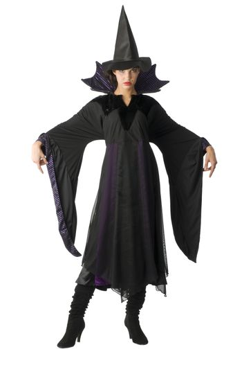 the witch with hat