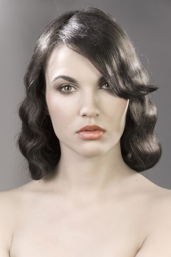 the old fashion coiffure