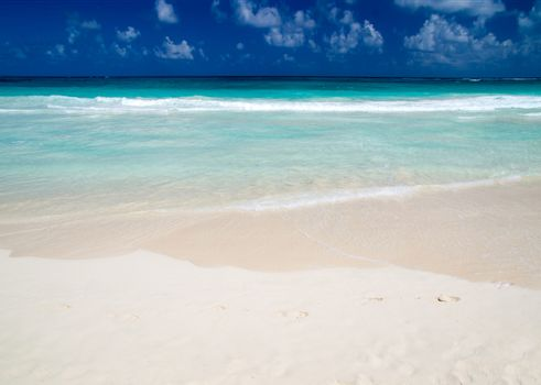 sea beach blue sky sand sun daylight relaxation landscape