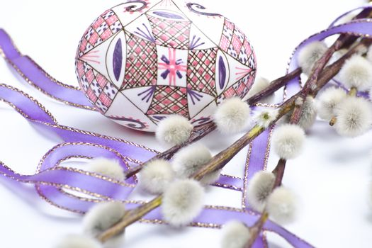 easter design with catkins