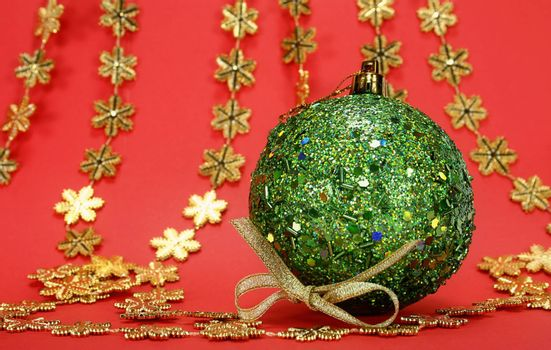 Great christmas globe - Close up. Great details