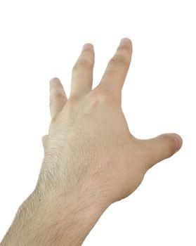Man hand.