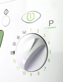 Wheel of a laundry.
