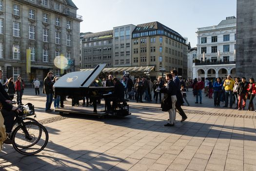 The Piano accross the world in Hamburg