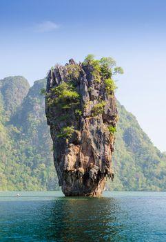 James Bond island geology rock formation