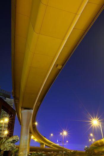 Freeway from bottom