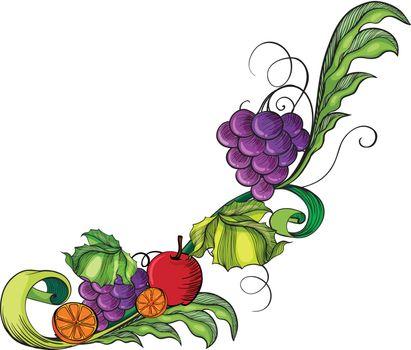 A fruity border