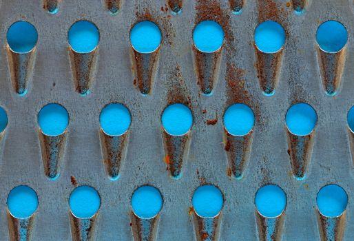 perforated metal grater