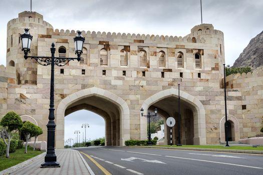 City gate Muscat