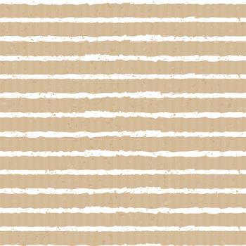 Seamless Cardboard Paper Stripes Background