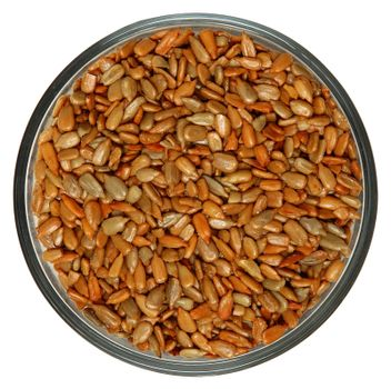 Roasted Salted Sunflower Seeds in Bowl
