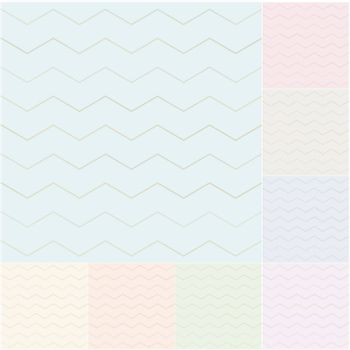seamless pastel chevron pattern with silvery gradient