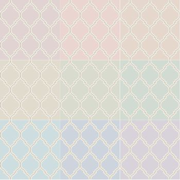 seamless islamic pastel pattern
