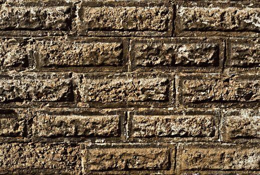 old rectangular wall