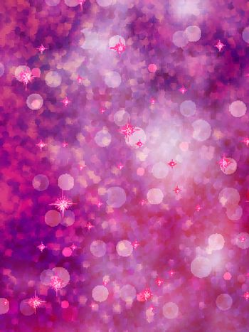 Abstract background of defocused purple lights. glitter background. EPS 10 vector file included