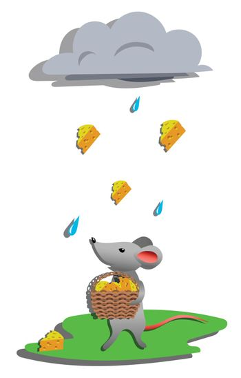 Rain for mouse