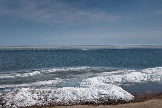 Arctic scene