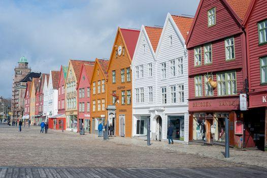 Old buildings in Bergen.