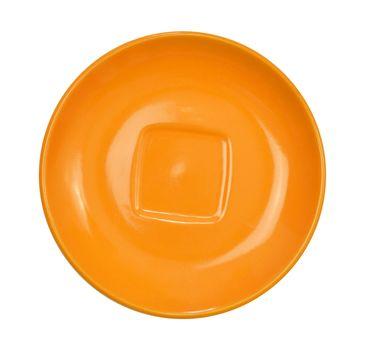 Orange saucer