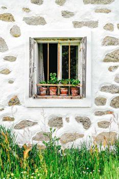 Window of a Farm