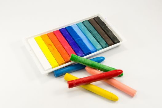 chalk and pastels