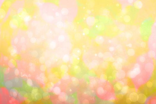 Girly pink and yellow pattern