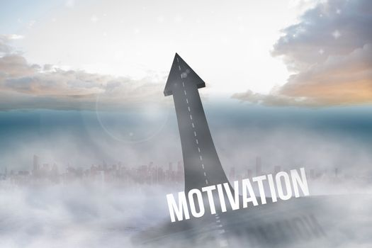 Motivation against road turning into arrow