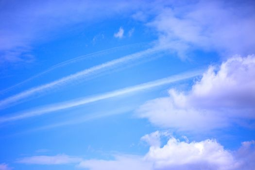 blue sky with cloouds