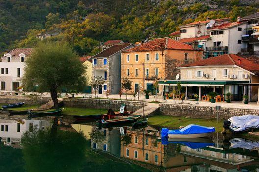 Crnojevica village on the river, Montenegro