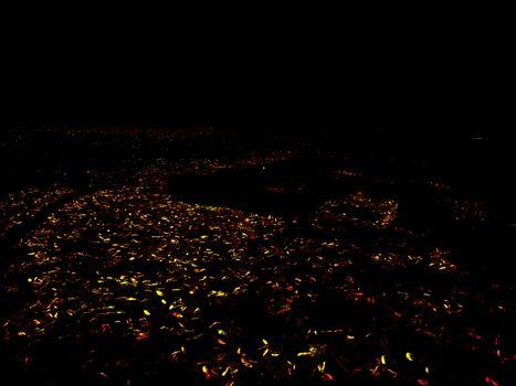 Trail of confetti