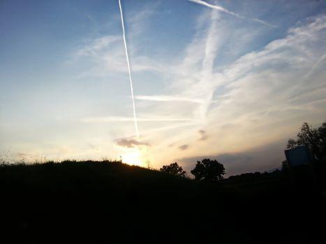 Dynamic skyline with silhouette