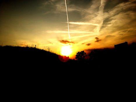 Birght shining sun