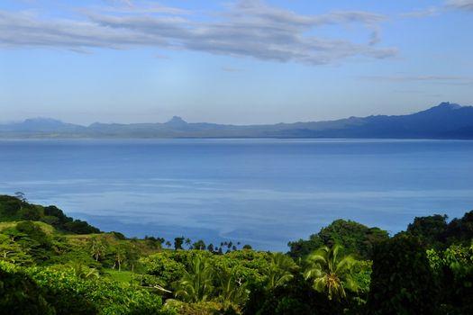 Savusavu bay, Vanua Levu island, Fiji