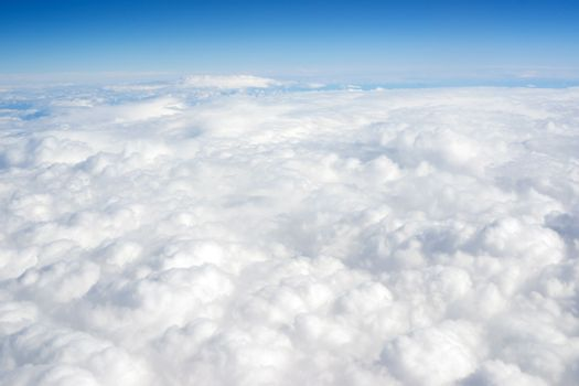 Cloud Cover Blue Sky Stratosphere Vertical Composition Clear Weather