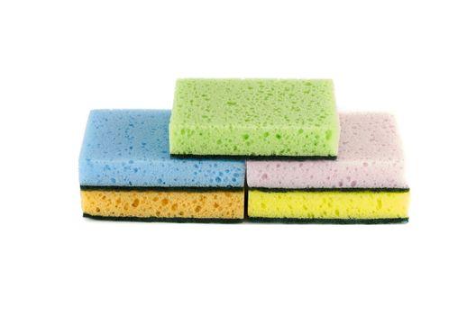 household cleaning sponge