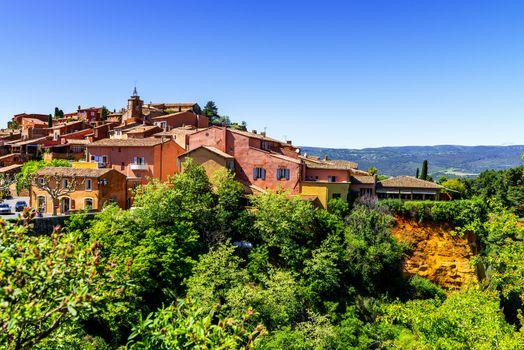 Roussillon village