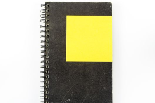 notebook and post it