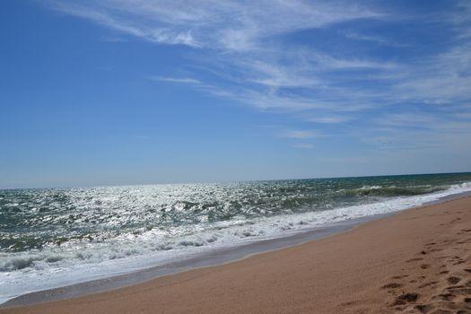 Beach on the Mediterranean sea