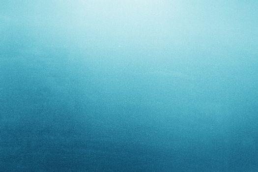 Blue frosted glass background, texture with backlight
