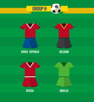 Brazil Soccer Championship 2014 Group H team
