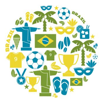 Brazil Icons Collection