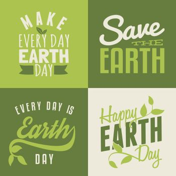 Earth Day Cards Collection