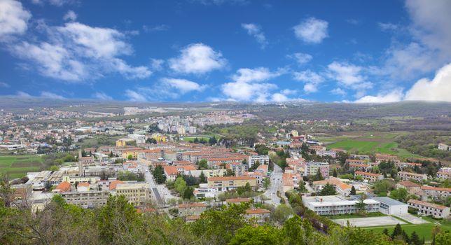view of the city Adriatic Coast