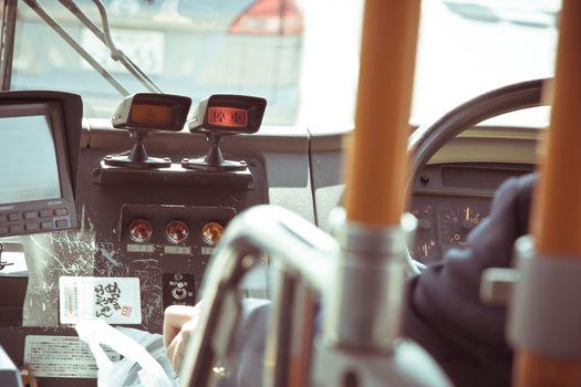 Japanese public bus