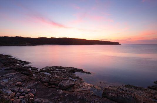 Sunrise Botany Bay Australia