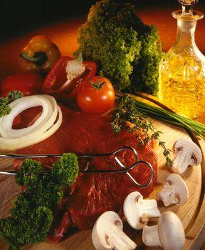 Cooking Prime Beefsteak