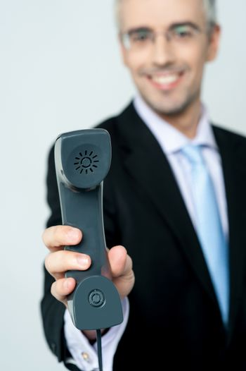 Its an important business call for you